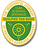 Black Cab Tours of London - Qualified Taxi Guide Badge